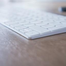 Apple Tastatur klein